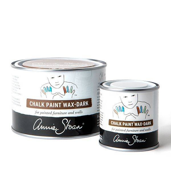 Dark Chalk Paint Wax Group 500ml and 120ml