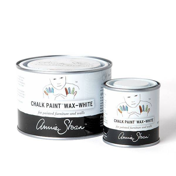 White Chalk Paint Wax Group 500ml and 120ml
