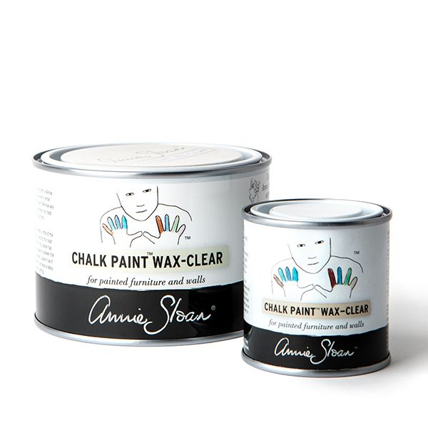 Clear Chalk Paint Wax Group 500ml and 120ml